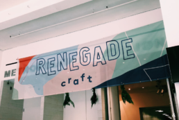 Renegade Craft Fair Banner